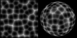 2D+3D sampling of Cellular Noise